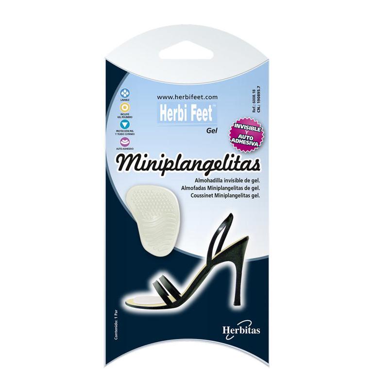 Almohadilla Miniplangelitas Gel - Herbi Feet