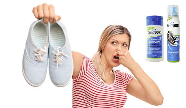 Gama SINODOR para el mal olor de pies