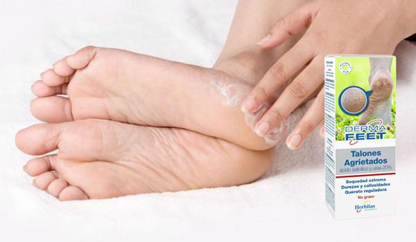 Crema talones agrietados Derma Feet