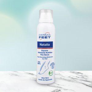 Espuma hidratante Natalia con Urea 20%
